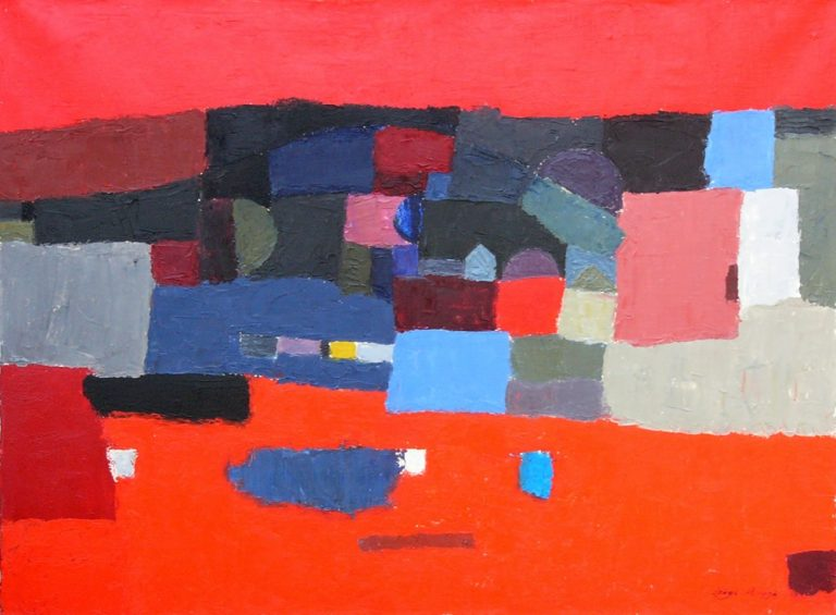 Szentendre 1., 1994, 60x80cm, oil on canvas