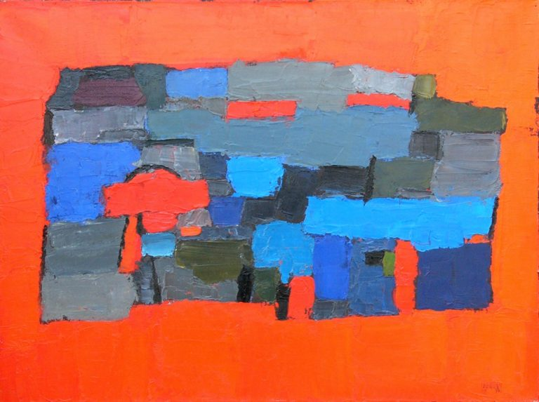 Szentendre 5., 1994, 60x80cm, oil on canvas