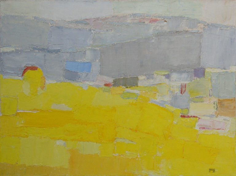Mountains 2., 1994, 60x80cm, oil on canvas