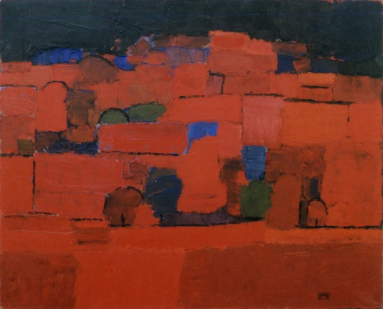 Buda 1., 1994, 80x100cm, oil on canvas