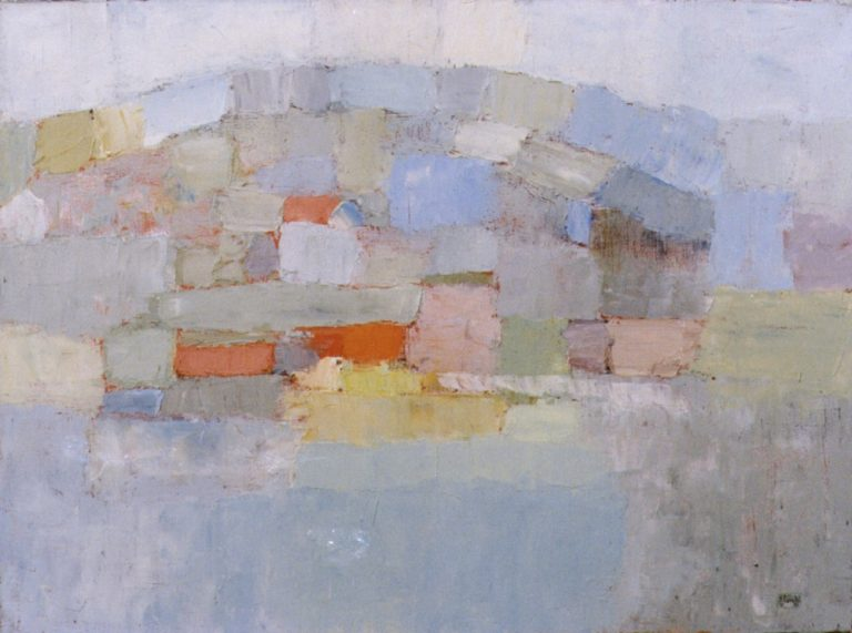 Szentendre 2., 1995, 60x80cm, oil on canvas