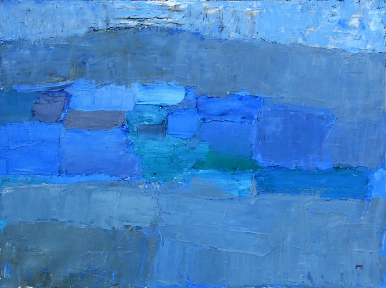 Szentendre 4., 1995, 60x80cm, oil on canvas