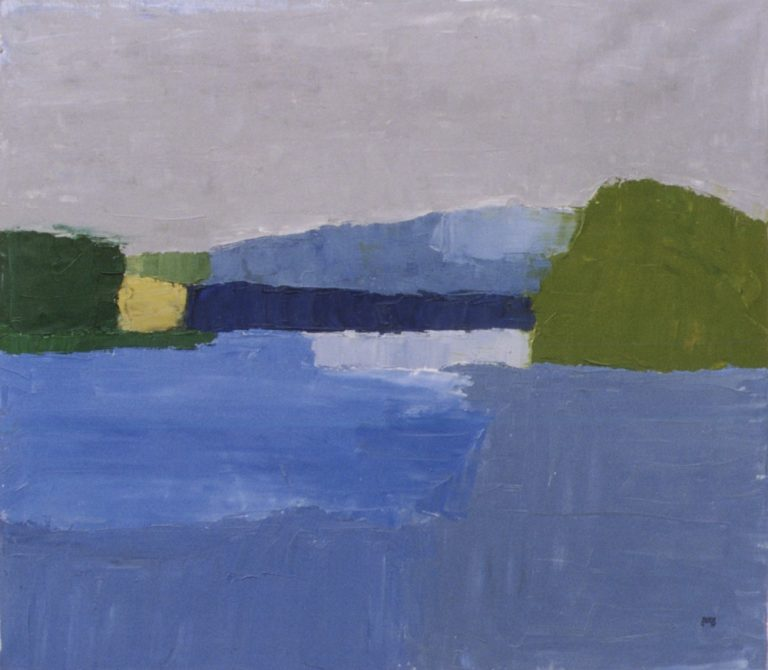 Duna, 1995, 70x80cm, oil on canvas