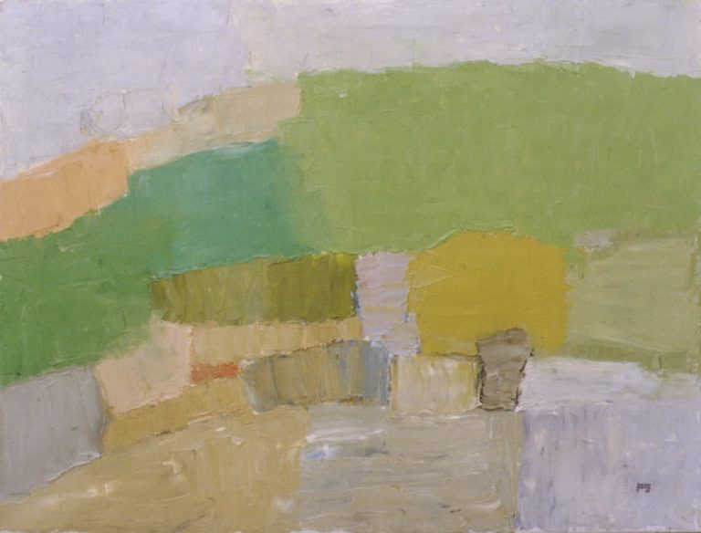 Mountains 4., 1995, 60x80cm, oil on canvas